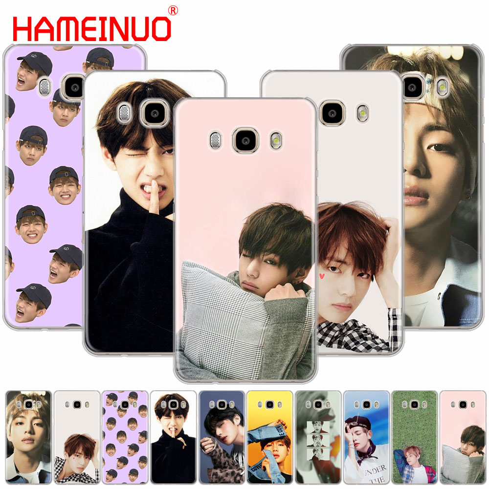 Galleria fotografica HAMEINUO BTS Bangtan Boys V cover phone case for Samsung Galaxy J1 J2 J3 J5 J7 MINI ACE 2016 2015 prime