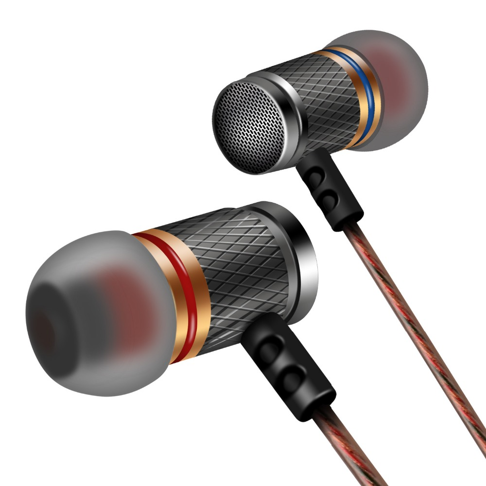 Brand Earphone KZ ED Universal Headphone Hot Sale HiFi Headset Bass Stereo Earbuds For Mobile Phone