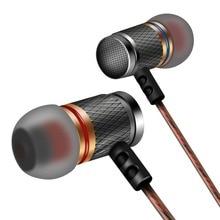 Brand Earphone KZ ED Universal Headphone Hot Sale HiFi Headset Bass Stereo Earbuds for Mobile phone Earpods iPhone Airpods