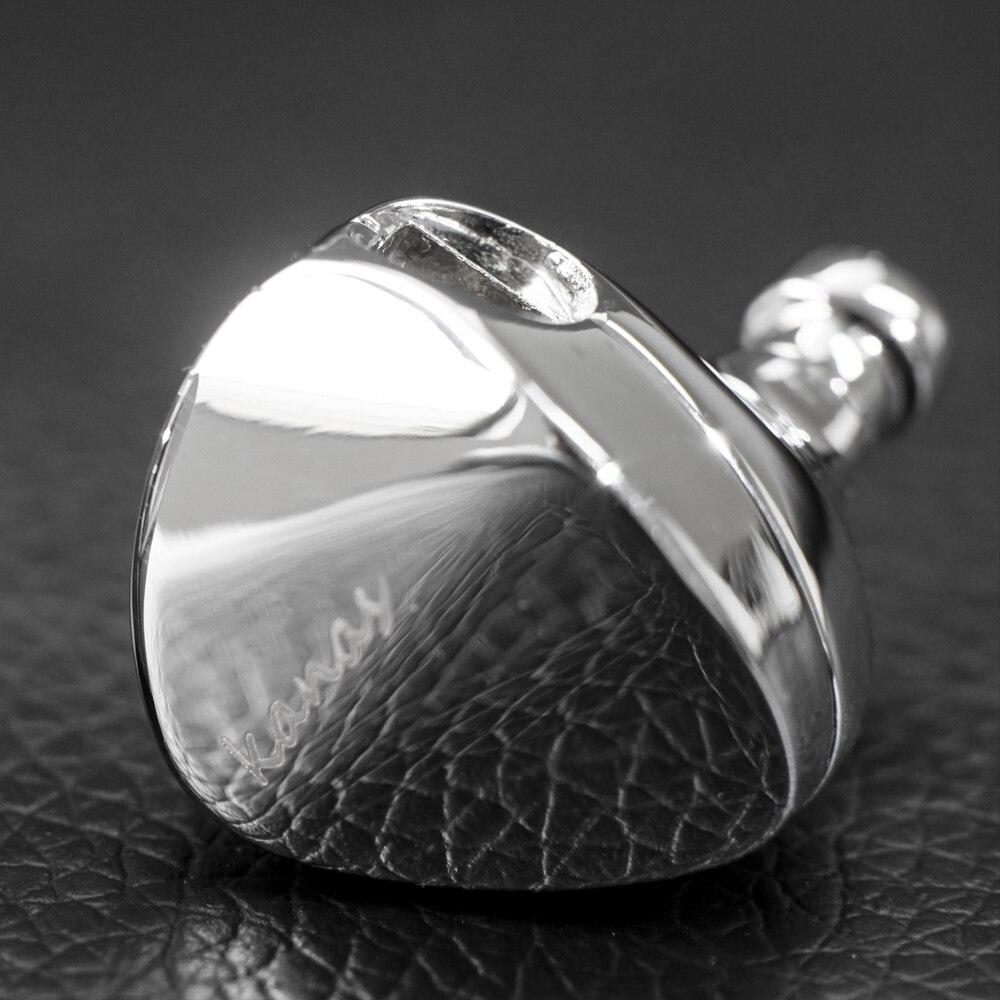 Moondrop Kanas Pro Diamant Comme Carbone Et Polyétheréthercétone Dynamique Dans L'oreille Écouteurs HIFI Moniteur Écouteurs Boules Quies Intra-auriculaires