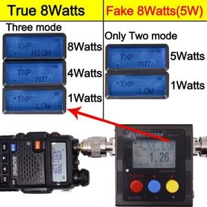Image 2 - Baofeng UV 5R 8 W 높은 전력 8 와트 강력한 워키 토키 장거리 10km VHF/UHF 듀얼 밴드 양방향 라디오 pofung uv5r 사냥
