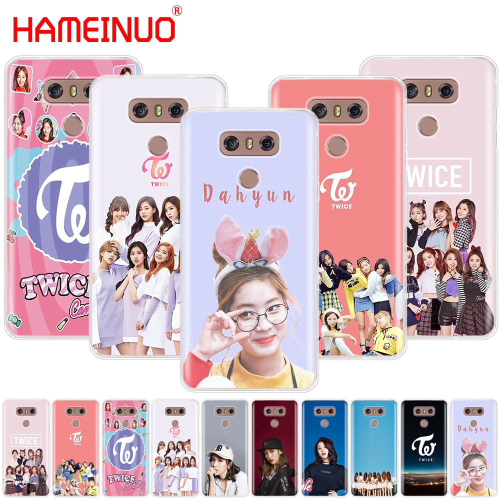 Hameinuo 두 번 kpop 케이스 전화 커버 lg q6 g6 mini g5 k10 m250n m250 2017 2016 x power 2 image