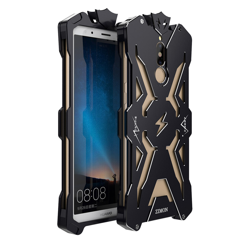 Luxury Aluminum Metal Cover Huawei Mate 10 Lite Case Armor Shockproof Hard Cover Huawei Mate 10 Pro Case For Huawei Mate 10 Lite