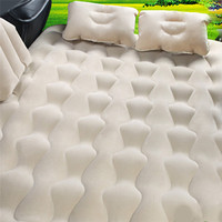 SUV Car Shock Bed Inflatable Mattress Car Rear Universal Adult Travelers Flocking Oxford Cloth Suitable For