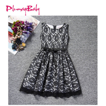 Baby Girl Dresses Age for 2-12 Years Princess Lace Dress Baby Girls Clothes Teenager Kids Bebe Dress Children Clothing girl
