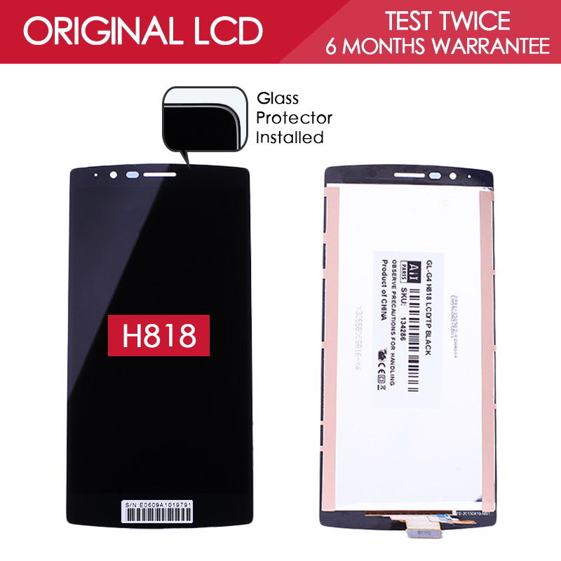 5 5 inch 100 Tested Original Brand 2560x1440 LCD For LG G4 Dual H818 H818P LCD