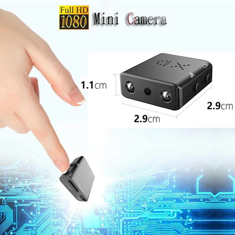 IR-CUT мини самая маленькая камера 1080p HD инфракрасный видеорегистратор ночного видения микро камера обнаружения движения DV камера 0