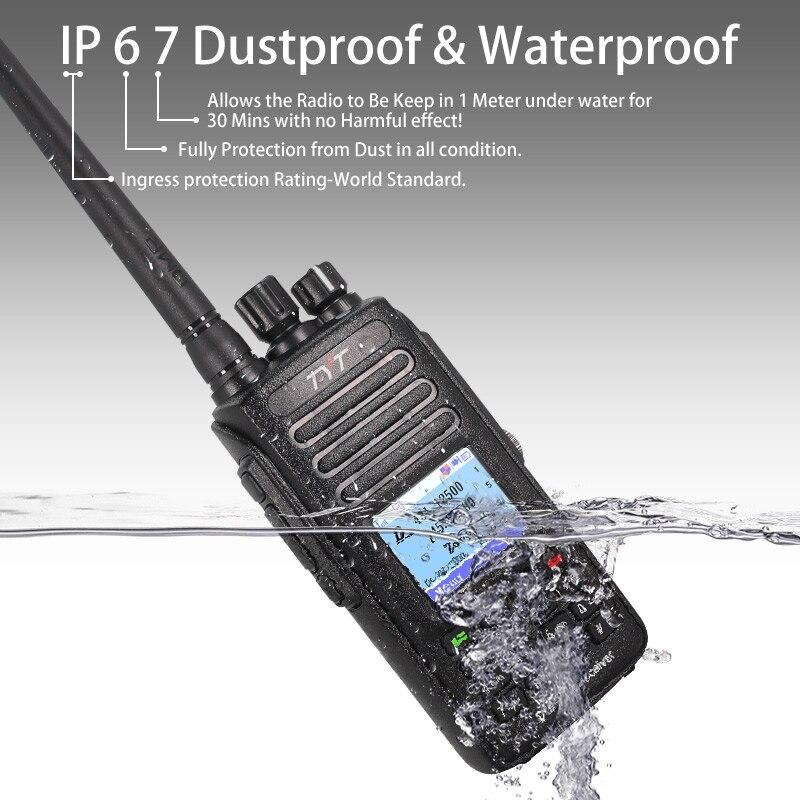 HOT SALE] Hot DMR TYT MD 390 DMR Radio with GPS Waterproof