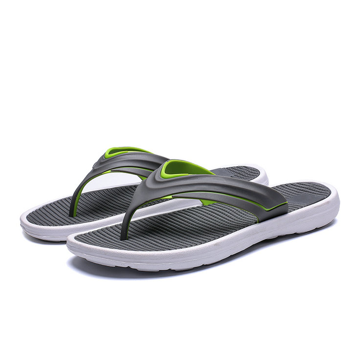 Flip Flops Shoes Mens Sport Sandals Lightweihgt Casual Sandals Arch Support Thongs Comfort Flip-flops Shock Proof Slippers