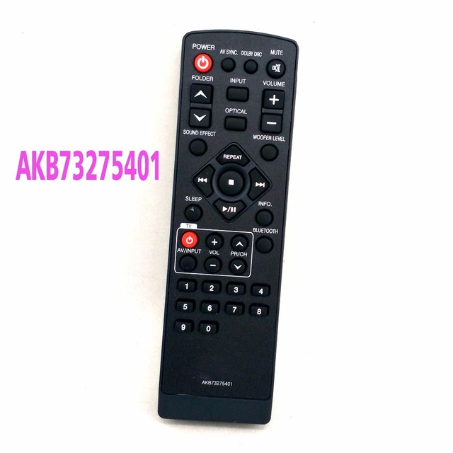 Original Remote Control Akb73275401 For Lg Lsb316 Nb3510a Sound Bar Remoto