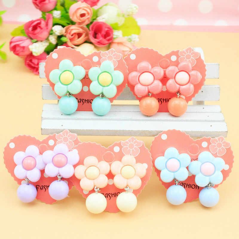 ใหม่เกาหลีการ์ตูนสัตว์น่ารักเด็กหูคลิปสาว Hairpins คิตตี้แมวหูคลิปเด็กคลิปต่างหูสำหรับสาว
