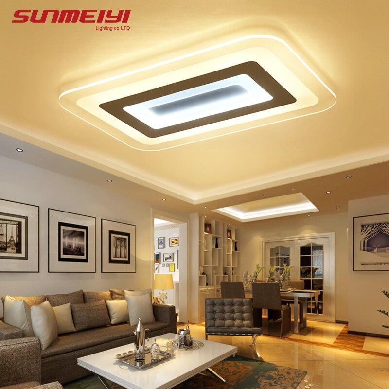 Moderne Led Decke Lichter Für Innen Beleuchtung Plafon Led Quadratische  Decken Lampe Leuchte Für Wohnzimmer Schlafzimmer Luminaria Teto