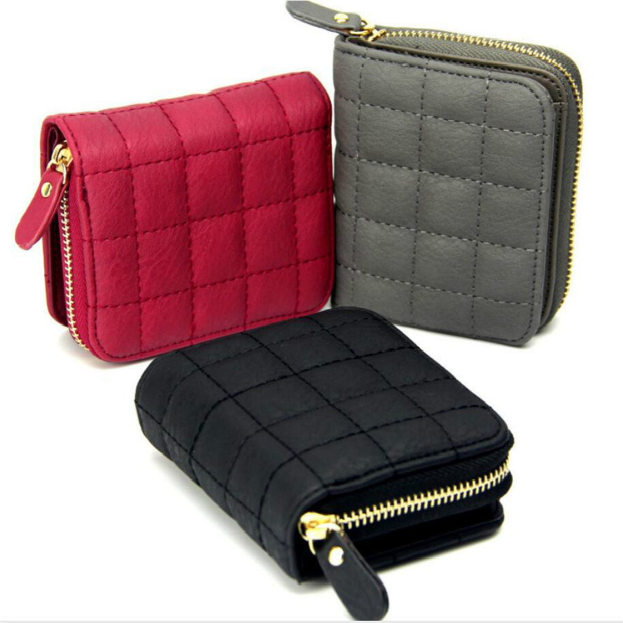 Woman Small Wallet Leather Wallets Women Cute Purse Billeteras Portfel Damski Womens Purses Carteir Portemonnee