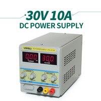 YIHUA 3010D постоянного тока переменной Питание светодиодный Дисплей 0 30 В Выход