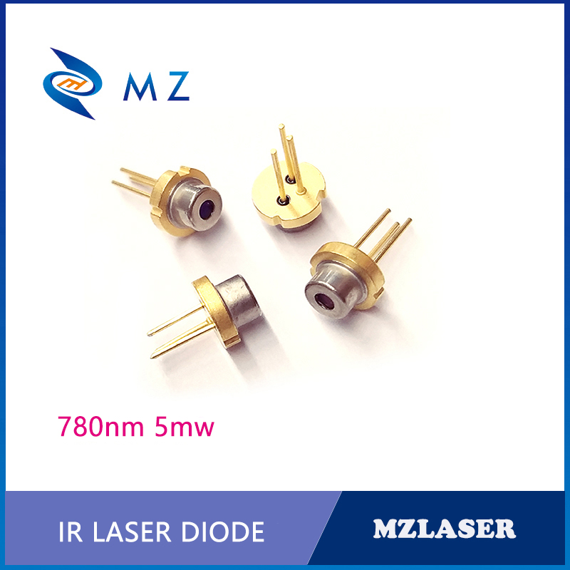 780nm 5mw Laser Diode TO-18Packaging IR Industrial Laser Diode