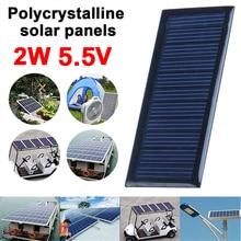 BCMaster Solar Panel Solar Cells Environmental 9*3.8cm 5.5V 60MA Reusable Phone Charger Mini Solar Charging Equipment
