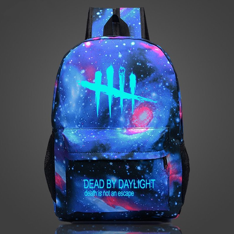 Game Dead By Daylight Luminous Backpack Cool Mochila College Students School Book Bag Glow up in Night Backpacks For Teenage