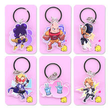 My Hero Academia Double Sided Clear Keychain Boku no Hero Academia Key Chain Hot Sale Anime Key Ring PCB194-213