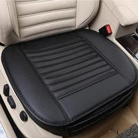1PC PU Leather Car Seat Cushions Breathable Car Interior Seat Cushion Cover Chair Mat Protector