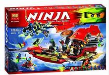 2016 New ZW 10402 Ninjagoed Building Blocks Final Fight of Destiny's Bounty Blocks Kids Bricks Toys Compatible with legoe 70738