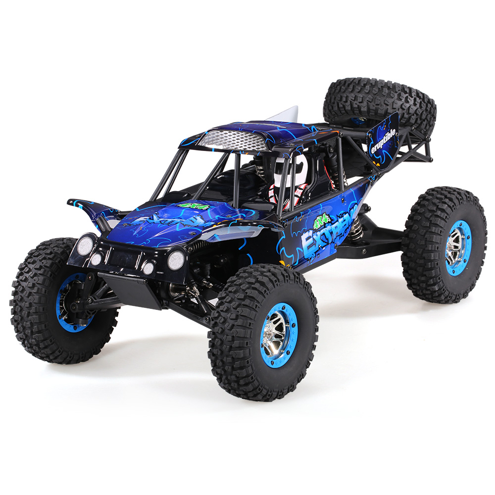 Wltoys Remote Control Climbing Car SUV 10428-B2 1:10 2.4G 4WD Electronic Rock Crawler Off-Road Buggy Desert Baja RC Cars RTR