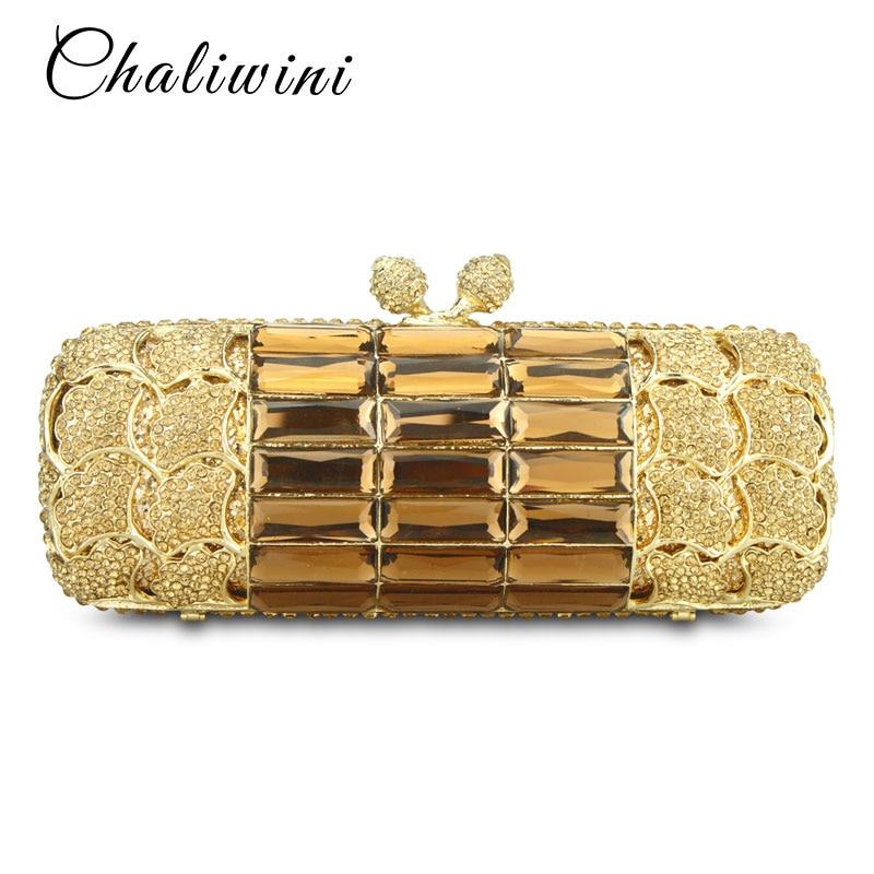 Goldanta të Grave të Arit Baganta Diamante të Argjendta - Çanta dore