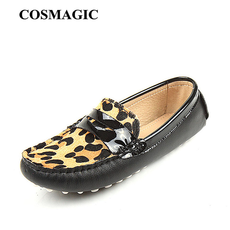 léopard mocassins noir plat 2017 Slip Slip et Casual New femmes Efqvpnpx7