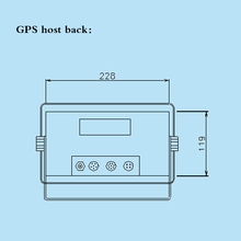 TFT 7 Inches True Color Liquid Crystal Marine GPS Marine GPS Navigator Two In One Chart Machine GPS & Accessories Display