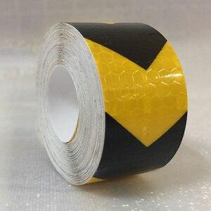 Image 5 - 3M Sicherheit Mark Reflektierende band aufkleber auto styling Selbst Klebe Warnband Automobile Motorrad Reflektierende Film