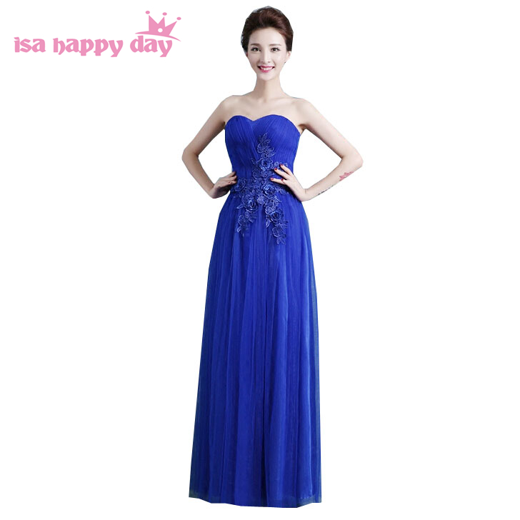 new arrival 2019 plus size sweetheart homecoming ball gowns royal blue robe de soiree sweet <font><b>16</b></font> <font><b>sexy</b></font> birthday dresses long H3051 image