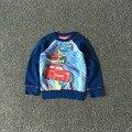 Free Shipping 8 Pieces/lot NEW 2-10T Mc Queen Car Hoodie Boy Fleece Sweatshirt
