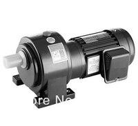 200W power single phase 220V ac gear motor horizontal mount 15 rpm 22mm output shaft without brake send to United Arab Emirates