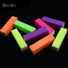 10pcs/lot Fluorescent Color Buffing Sanding Buffer Block Files Manicure Nail Art