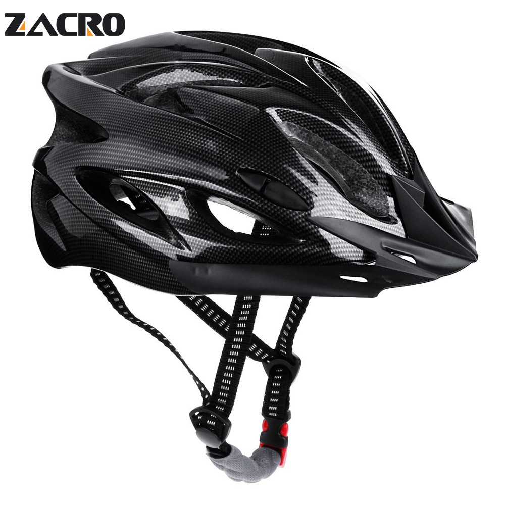 Zacro Cycling Helmet Mtb 2018 Road Bicycle Helmet Triathlon Bike Capacete Ciclismo Capacete Bike Casco Mtb Bycicle Accessories rockbros direct selling in mold mtb bike helmet with tail light casco ciclismo carretera usb luminous cycling equipment capacete