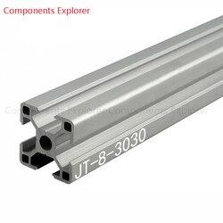 Произвольная мм Резка 3030 мм 1000 алюминиевый экструзионный профиль, серебристый цвет.