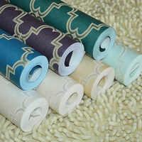 beibehang Diamond lattice 3D wallpapers for living room bedding room mural wall paper roll for walls papel de parede listrado