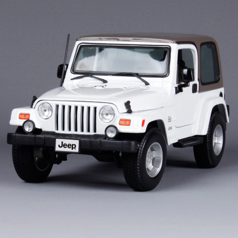 Maisto 1:18 JEEP WRANGLER Sahara SUV Car Diecast Model Car Toy New In Box Free Shipping 31662 1 18 all new jeep wrangler willys 2017 cabrio off road vehicle suv alloy toy car