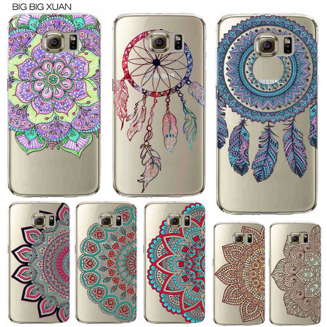 Floral Paisley Flower Mandala Henna Phone Case For Samsung Galaxy S5 S6 S6Edge S6edgeplus S7 S7edge