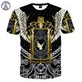 Mr.1991INC marca de Moda de los hombres 3d camiseta impresa animales divertidos águila sexy tops tees Camiseta de eagle MDT59