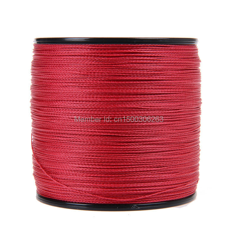 4 strands 500M red (3)