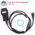 High Quality VAG K+CAN COMMANDER 3.6 VAG Diagnostic Tool VAG KCAN 3.6 Scanner Tool VAG 3.6 Diagnostic Cable
