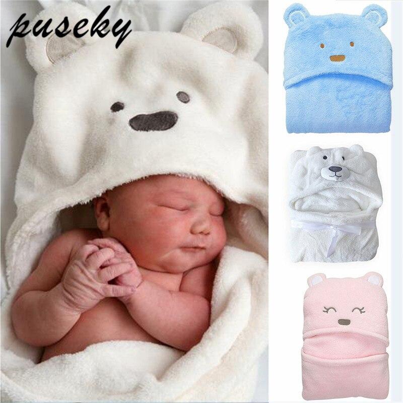 Comfortable Baby Bathrobe Cute Animal Cartoon Babies Blanket Kids Hooded  Bathrobe Toddler Baby Bath Towel 2114f2906