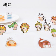 DIY Kawaii Panda Paper Sticker Cute Animals Sealing Stickers Post It Diary Scrapbooking Decoration Label Kids Gifts Stationery