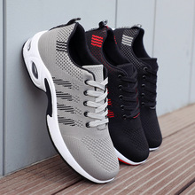 Men Casual Shoes Air Mesh Male Sneakers 2019 Fashion Summer Breathable Footwear Male Shoes Sneakers Flats Tenis Masculino Adulto-in Men's Casual Shoes from Shoes on AliExpress