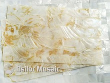 AAA grade natural dapple color Chinese freshwater shell laminate for musical instrument and furniture inlay