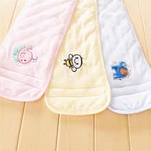 Hot sale Baby Care Umbilical Cord Apron Protect Navel Belly Thick Warm Embroidery Belly  Baby Supplies Bibs & Burp Cloths New