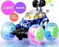 2017 Nueva Ruedas Delanteras Giran 360 Grados de Control Remoto de Coches Con la luz Y La Música Fácil Rc Cars Para Niños Pequeños 18 cm Todo Mini
