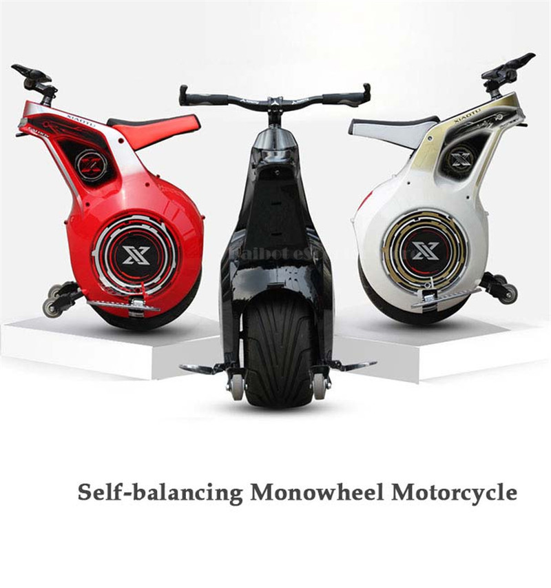 New 19 Inch Electric Motorcycle Adult With APP One Wheel Self Balancing Scooters Powerful 800W 60V Electric Unicycle One (31)