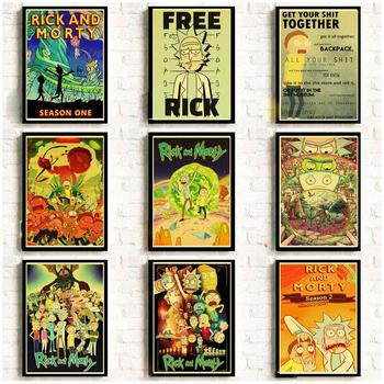 Rick and Morty Retro Posters