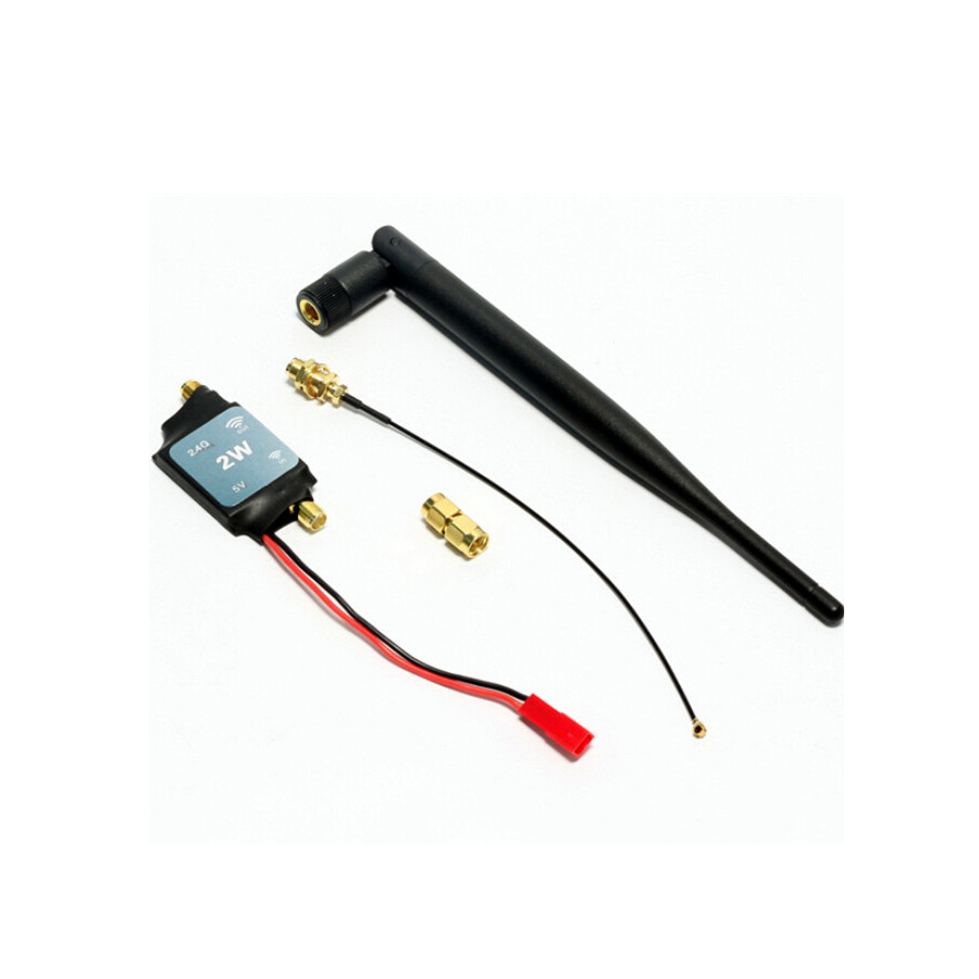 2.4G Radio Signal Amplifier Signal Booster For RC Model Quadcopter